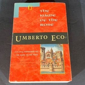 Vintage The Name of the Rose by Umberto Eco Book